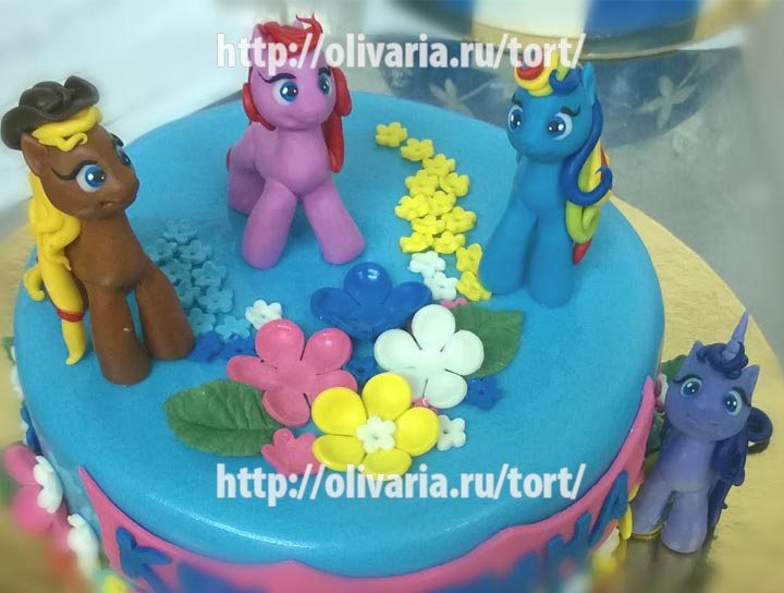 Фигурки на торт как сделать